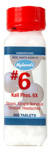 Picture of #6 Kali Phos. - 6X - 500 tablets