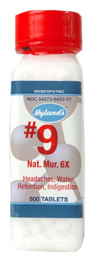 Picture of #9 Nat. Mur. - 6X - 500 tablets
