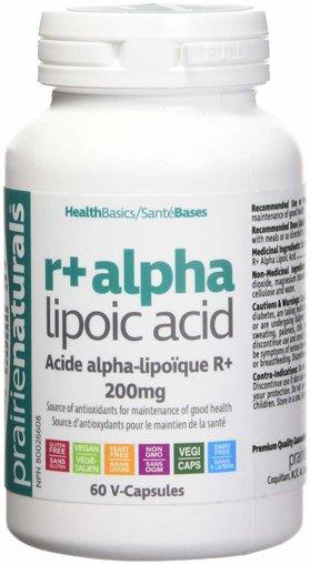 Picture of R Alpha Lipoic Acid - 200 mg - 60 veggie capsules