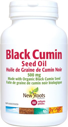 Picture of Black Cumin Seed Oil - 500 mg - 60 soft gels