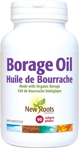 Picture of Borage Oil - 1,000 mg - 90 soft gels
