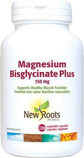 Picture of Magnesium Bisglycinate Plus - 150 mg - 120 capsules