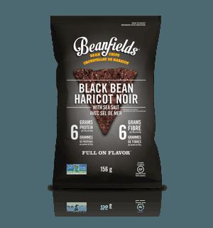 Picture of Bean Chips - Black Bean Sea Salt - 156 g