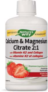 Picture of Calcium & Magnesium Citrate 2:1 - Strawberry - 500 ml