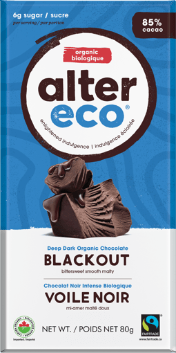 Picture of Chocolate Bar - Blackout - 80 g