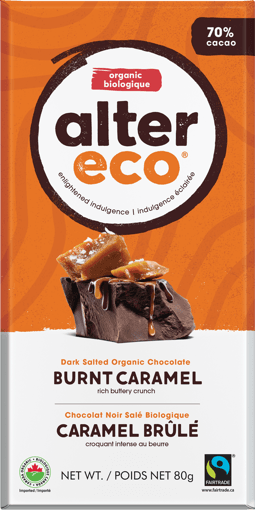 Picture of Chocolate Bar - Burnt Caramel - 80 g