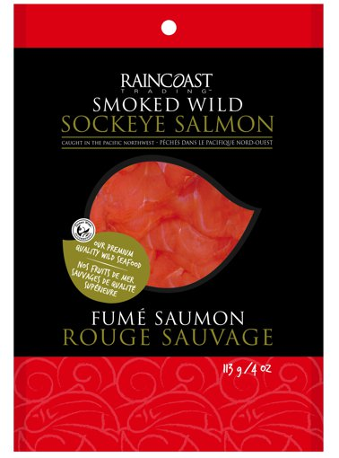 Picture of Sockeye Salmon - Smoked Wild - 113 g