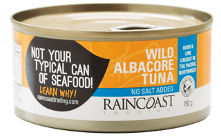 Picture of Wild Albacore Tuna - No Salt - 150 g