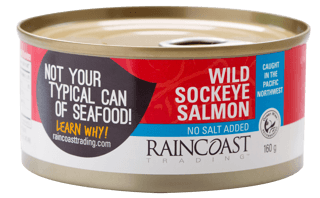 Picture of Wild Sockeye Salmon - No Salt - 160 g