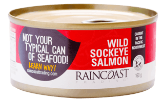 Picture of Wild Sockeye Salmon - Traditional - 160 g