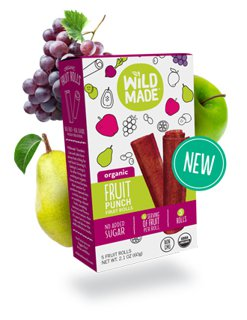 Picture of Fruit Rolls - Fruit Punch - 60 g