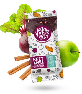Picture of Fruit and Veggie Strips - Beet, Apple + Cinnamon - 12 g