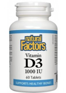 Picture of Vitamin D3 1000IU - 1,000 IU - 60 tablets