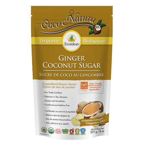Picture of Coco Natura Ginger Coconut Sugar - 227 g