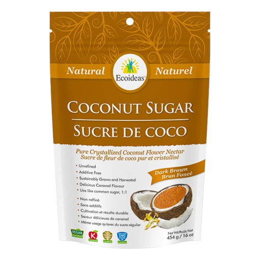 Picture of Coconut Sugar - Dark Brown - 454 g