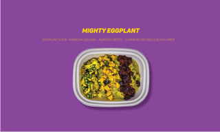 Picture of Bowls - The Mighty Eggplant - 570 g
