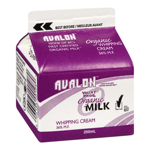 Picture of Organic Milk Whipping Cream