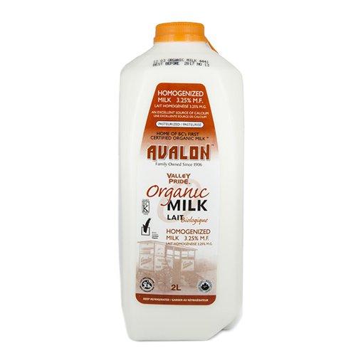 Picture of Organic Milk Homogenized 3.25% - 2 L