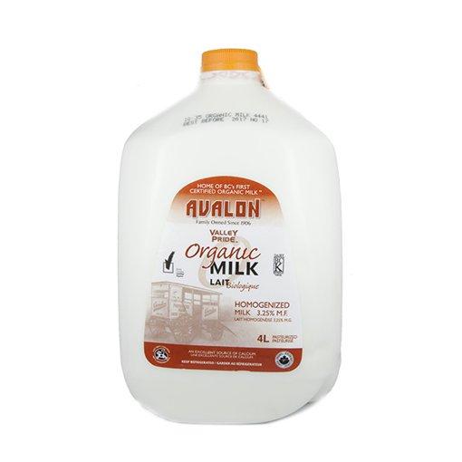Picture of Organic Milk Homogenized 3.25% - 4 L