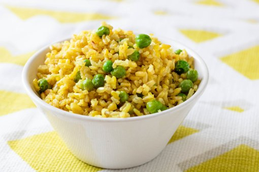 Picture of Coriander Brown Rice with Peas