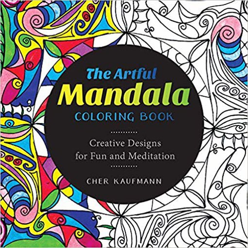 Picture of Artful Mandala Coloring Book - 1 each