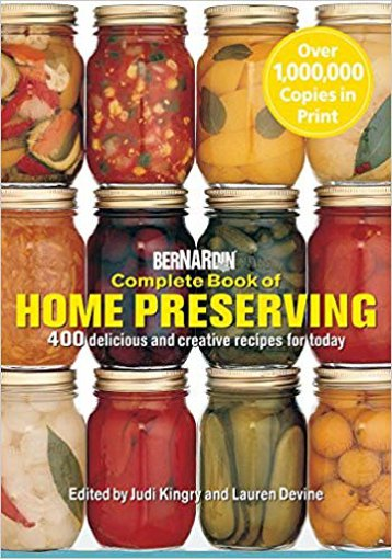 Picture of Bernardin Complete Book of Home Preserving - 1 each