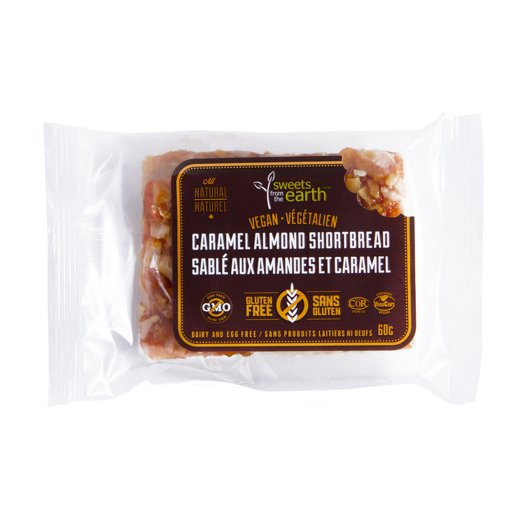 Picture of Caramel Almond Shortbread - 60 g