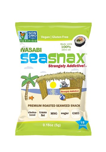 Picture of Premium Roasted Seaweed Snack - Wasabi - 5 g