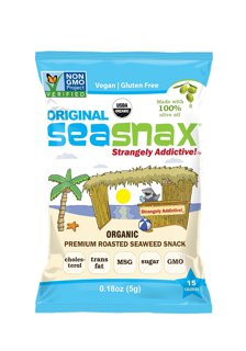 Picture of Premium Roasted Seaweed Snack - Original - 5 g