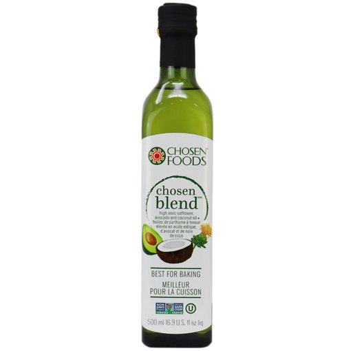Picture of Safflower Avocado & Coconut Oil Blend - 500 ml