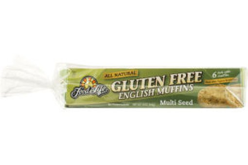 Picture of Gluten Free English Muffins - Multi Seed - 6 count