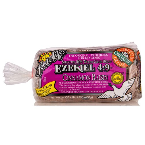 Picture of Ezekiel 4:9 Sprouted Grain Bread - Cinnamon Raisin - 680 g