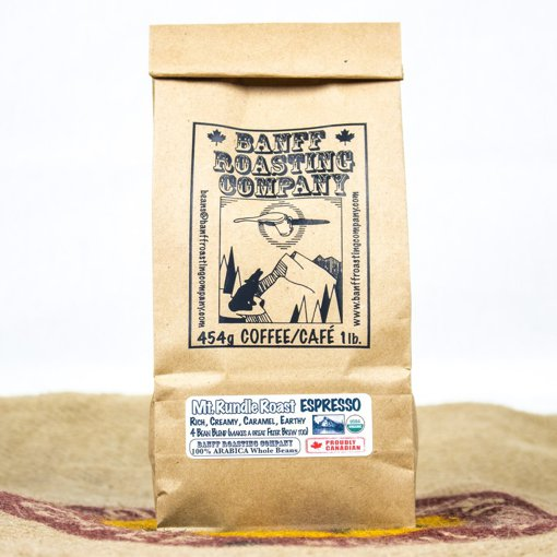 Picture of Coffee - Mt. Rundle Roast - Espresso - 454 g