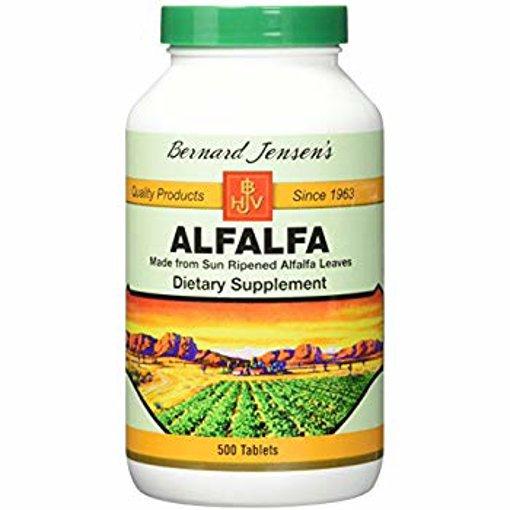 Picture of Alfalfa Leaf Tablets - 500 tablets