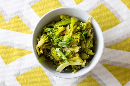 Picture of Green Vegetable Oriental Style