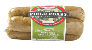 Picture of Vegetarian Grain Meat Sausages - Smoked Apple Sage - 368 g