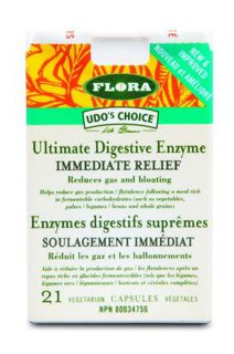 Picture of Immediate Relief Enzymes - 21 veggie capsules