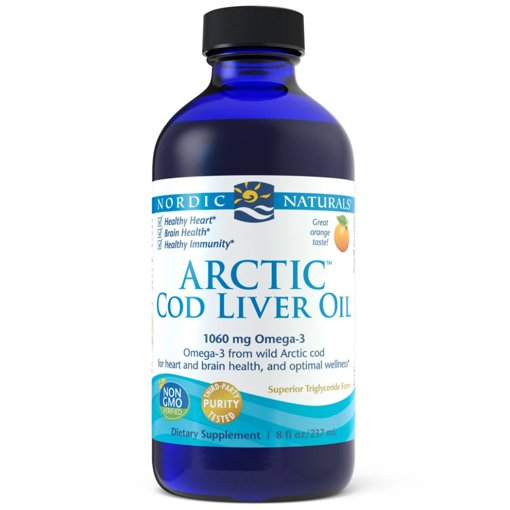 Picture of Arctic Cod Liver Oil - Orange 1,050 mg - 237 ml