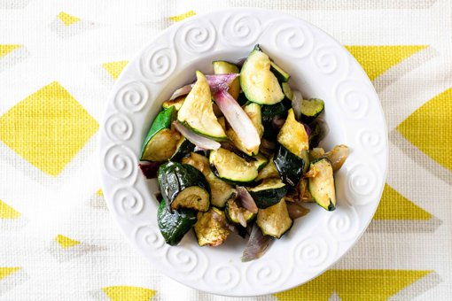 Picture of Roasted Zucchini and Red Onions