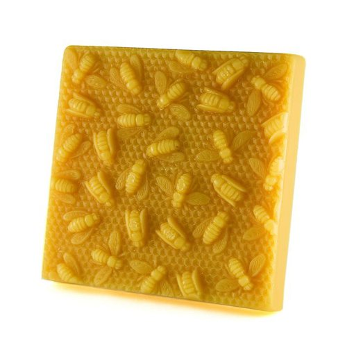 Picture of Bees on Honeycomb Block - 1 lb - 1 each