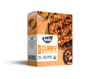 Picture of Organic Tofu Nuggets - Thai Curry - 227 g