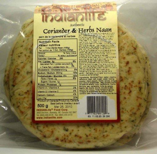 Picture of Coriander & Herbs Naan - 500 g