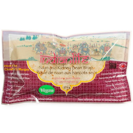 Picture of Naan and Kidney Bean Wrap - Naan and Kidney Bean - 275 g