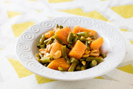 Picture of Squash and Green Beans in Coconut Milk