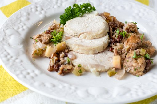 Picture of Roast Turkey with Stuffing