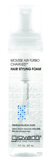 Picture of Natural Mousse Air-Turbo Charged Hair Styling Foam - 207 ml