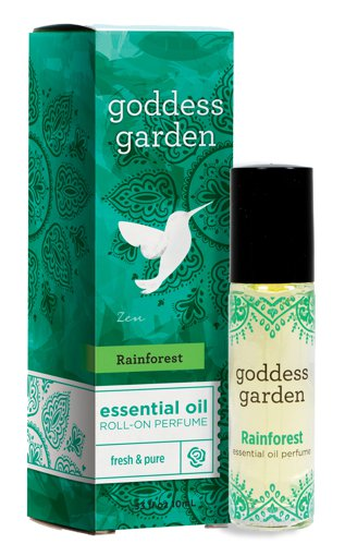 Picture of Essential Oil Roll-On Perfume - Rainforest - 10 ml