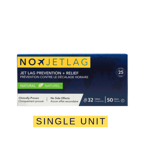 Picture of Homeopathic Jet Lag Prevention - 32 tablets