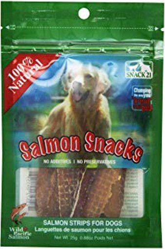 Picture of Salmon Snacks for Dogs - 25 g