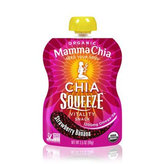 Picture of Chia Squeeze - Strawberry Banana - 99 g